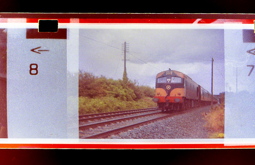 railroad ireland 110 railway class historic 1984 co kildare cie a sallins