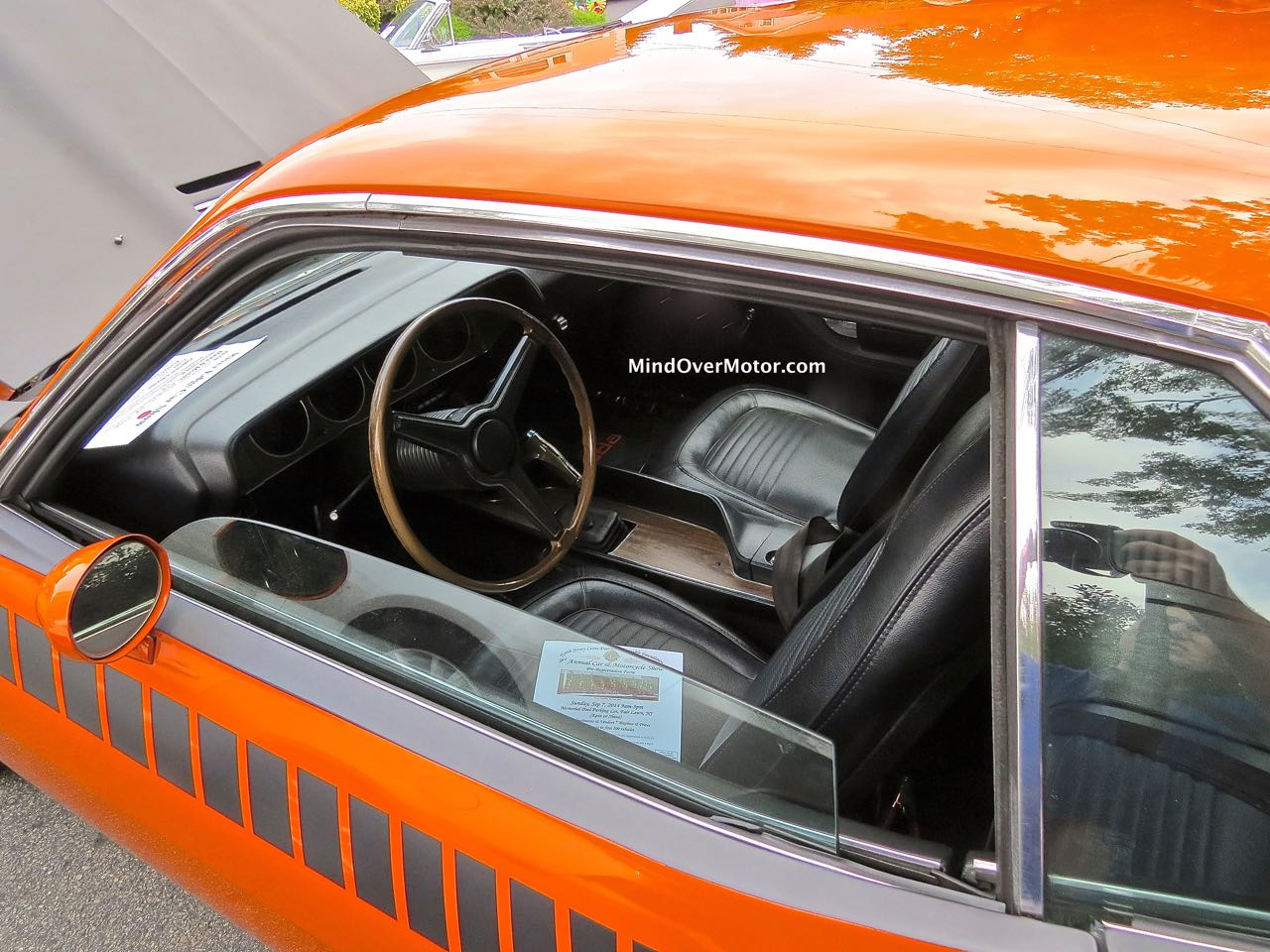 Plymouth AAR Cuda Interior