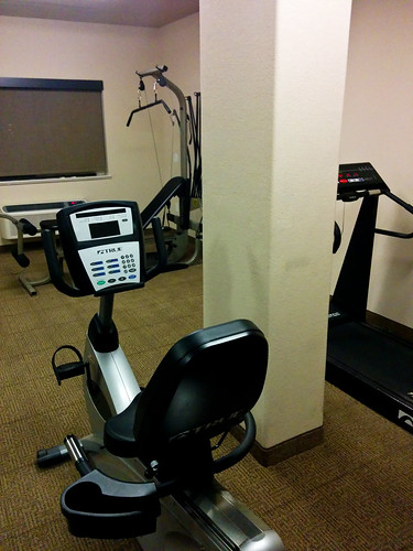 Roswell, NM: Sad Hotel Gym
