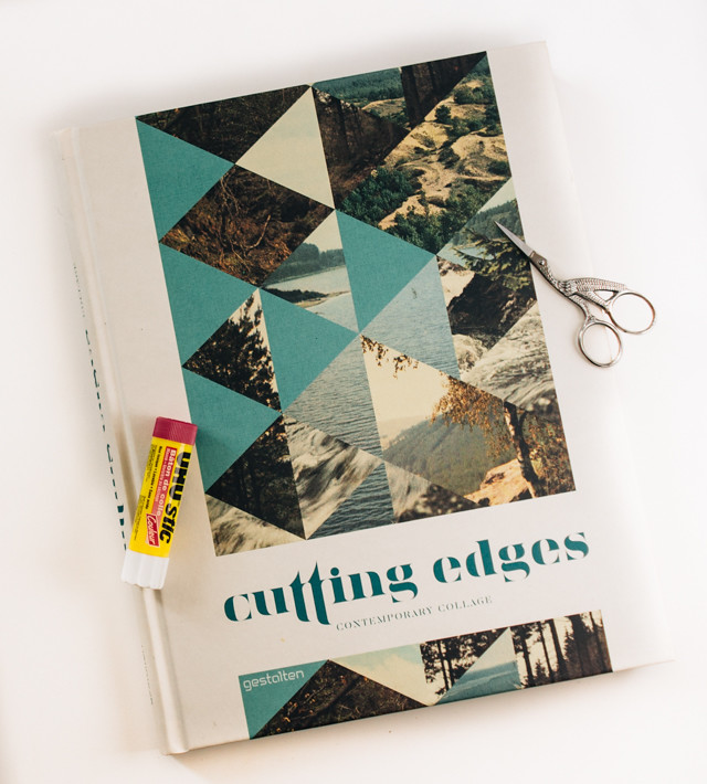 cutting edges: contemporary collage book