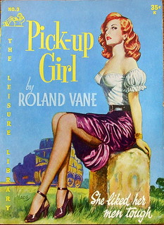 Pick-Up Girl - Leisure Library - No 3 - Roland Vane - 1952