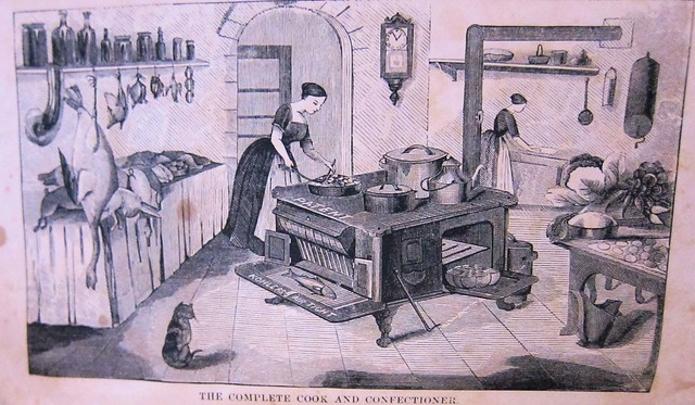 complete cook and confectioner frontispiece