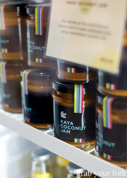 Kaya coconut jam at Lux Bite, South Yarra