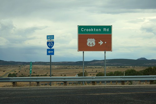 Route 66, Crookton Road Exit, Arizona