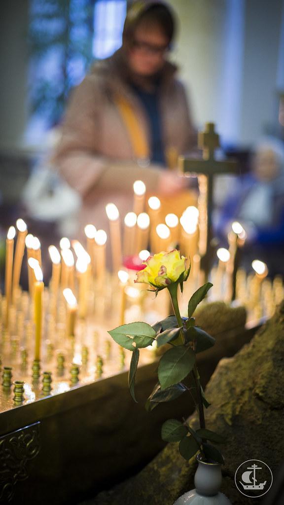 "6 ноября 2014, Празднование в честь иконы Божией Матери ""Всех скорбящих Радосте"" / 6 November 2014, The celebration in honor of the icon of the Mother of God ""Joy of all who Sorrow"""