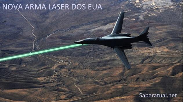 Conheça a arma a laser dos EUA capaz de destruir qualquer alvo em poucos segundos. vídeo