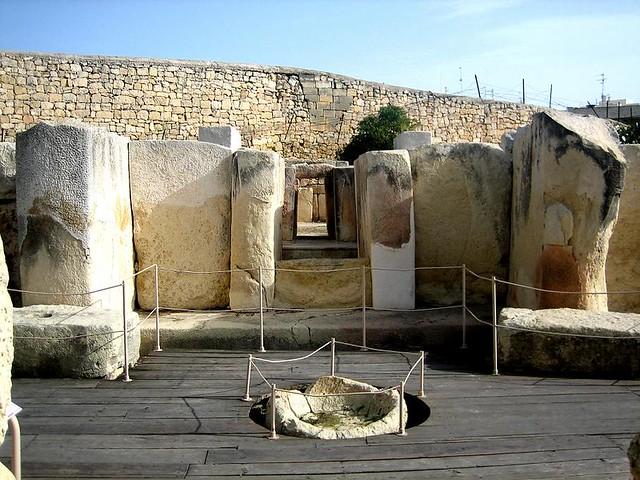 Templos megaliticos de malta - tarxien