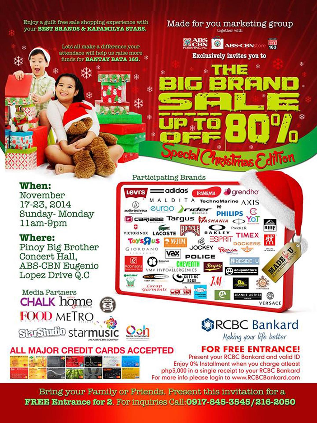 Trice Nagusara Big Brand Sale Special Christmas Edition 2014 02