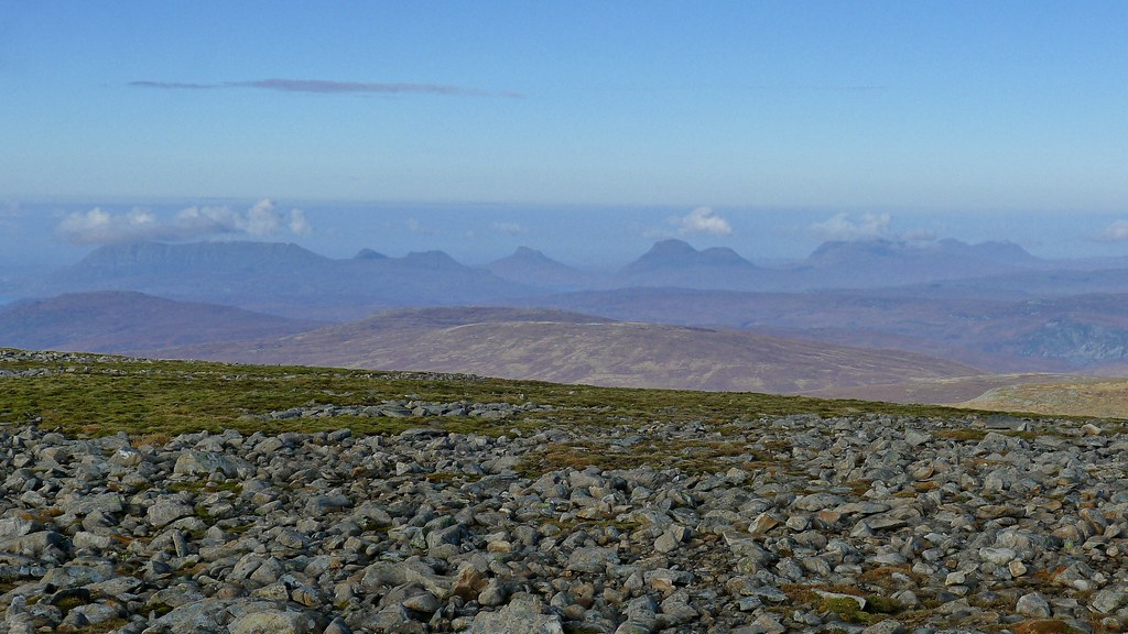 The hills of Assynt and Coigach