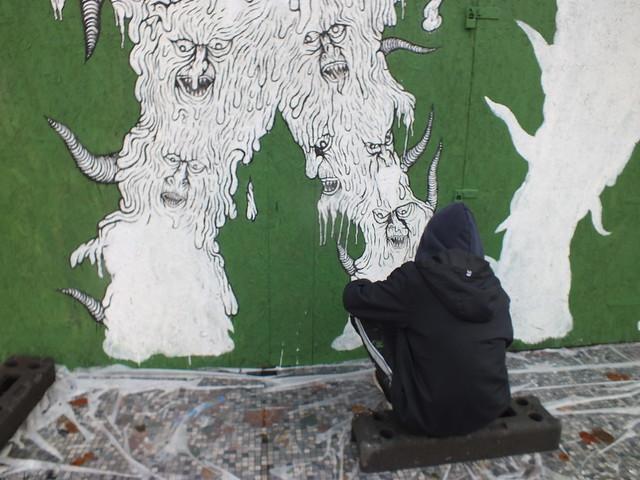 Empty Walls 2014: Ekstraternek