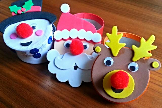 Baker Ross Christmas gift boxes, Baker Ross Christmas crafts