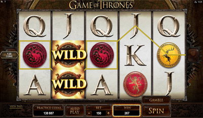 Game of Thrones - 15 Lines slot game online review