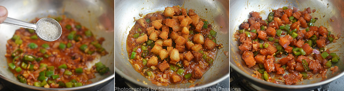How to make chilli idli fry  - Step6