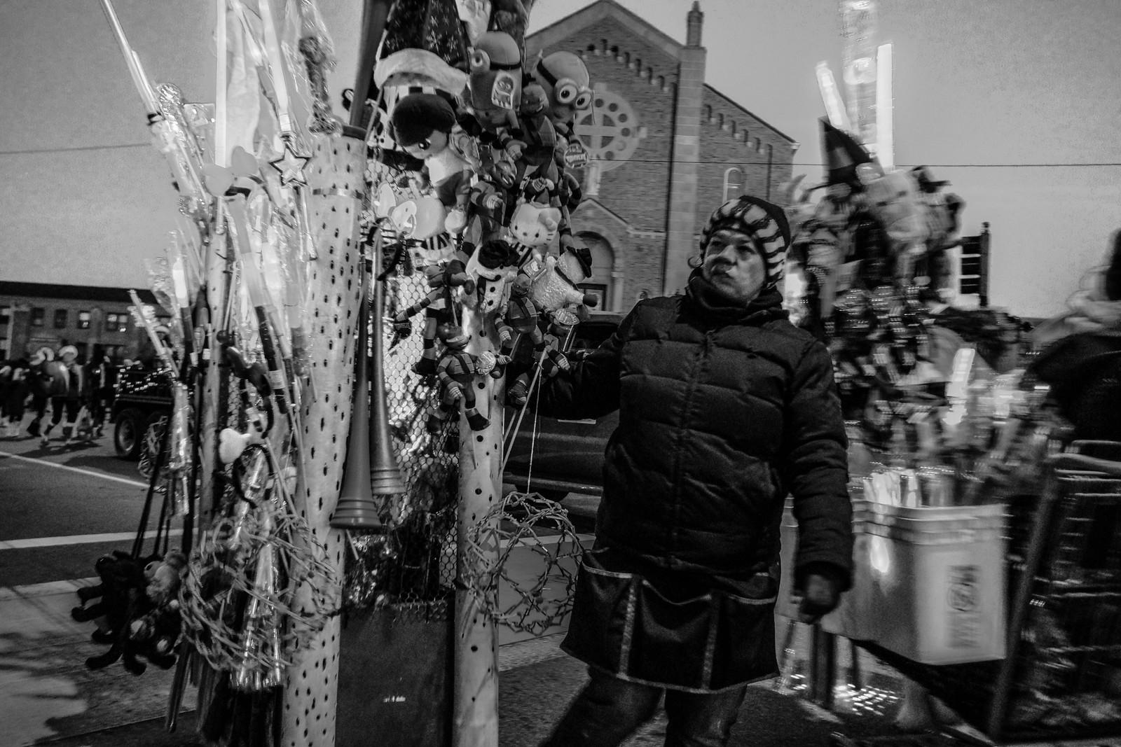 Grumpy Parade Vendor