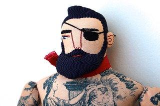 pirate man face