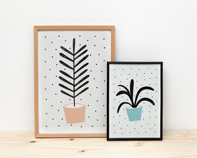 Plantas Prints by Depeapa