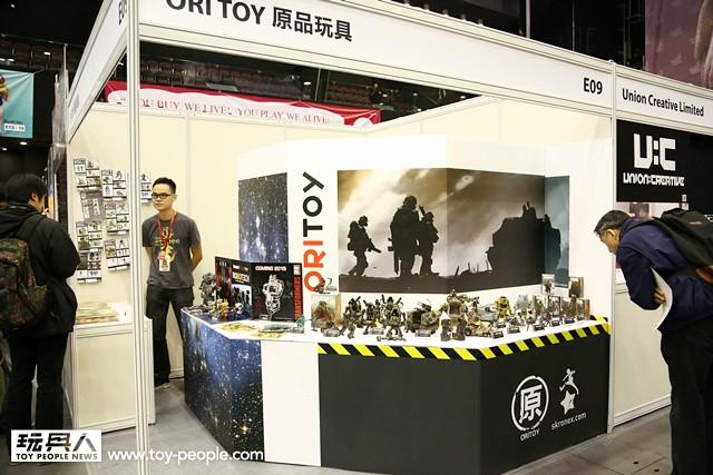 TOY SOUL 2014【ORI TOY 原品玩具】E09 攤位完整報導