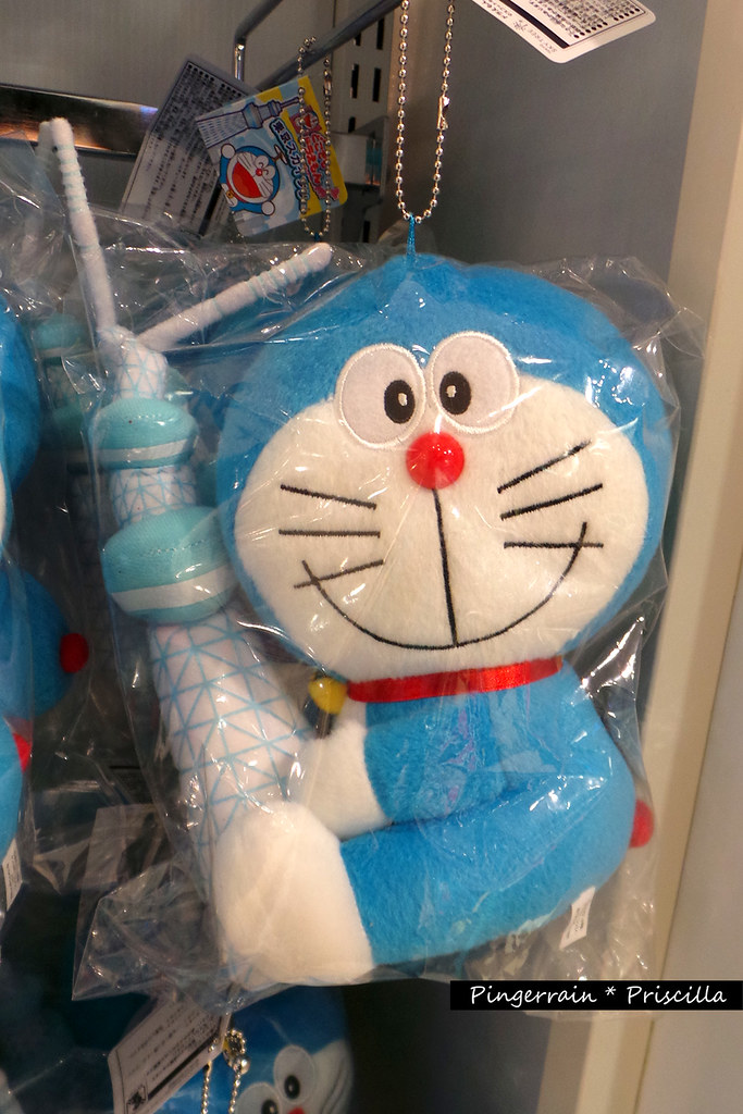 Doraemon with Tokyo SkyTree