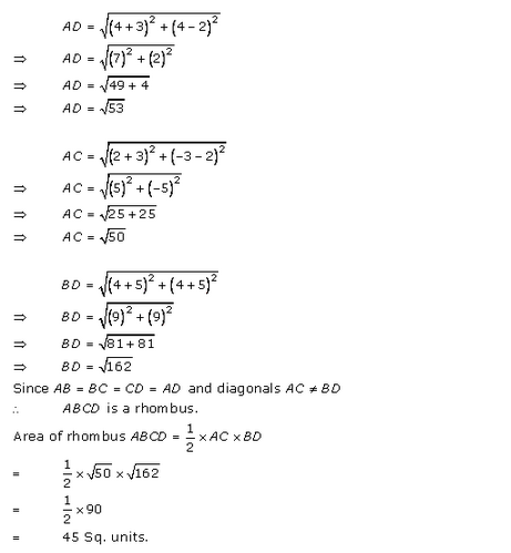 RD-Sharma-class 10-Solutions-Chapter-14-Coordinate Gometry-Ex-14.2-Q26 i