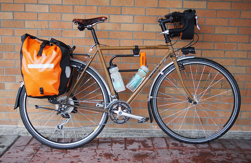 "Surly Cross-check: ""Turkey Gravy"": Very good at light touring"