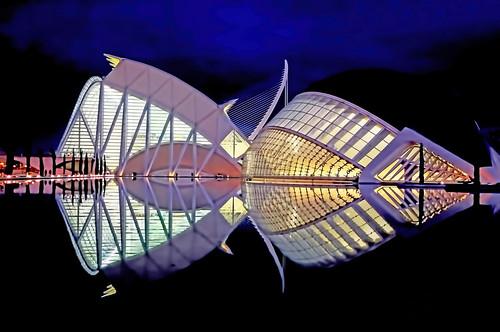 City of Arts and Sciences, Valcencia, Spain, European Community