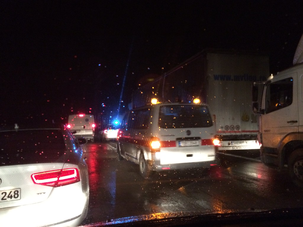 Stuck on The Highway for Over 6 Hours (12/1/14)