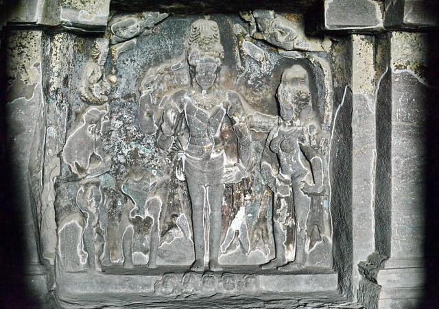 India - Maharashtra - Ellora Caves - Cave 15 - 17