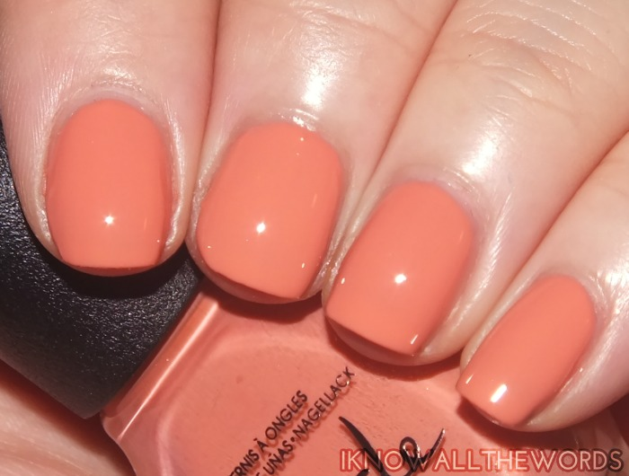 nicole by opi new shades- who are you calling a shrimp