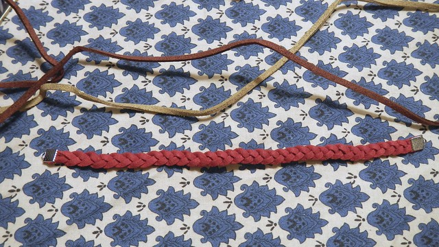 Braided Suede Bracelet 1