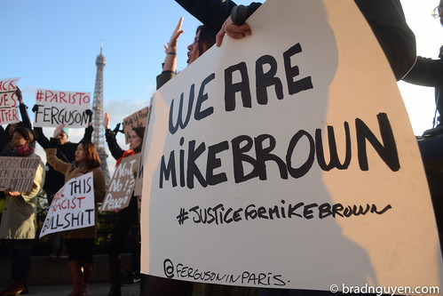 Paris To Ferguson Protest