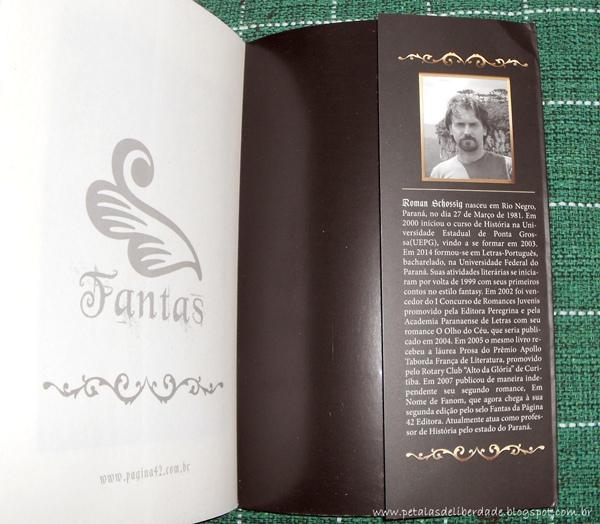 escritor, resenha, livro, O Reino Dourado: em nome de Fanom, Roman Schossig, Fantas, fantasia, ouro, literatura nacional