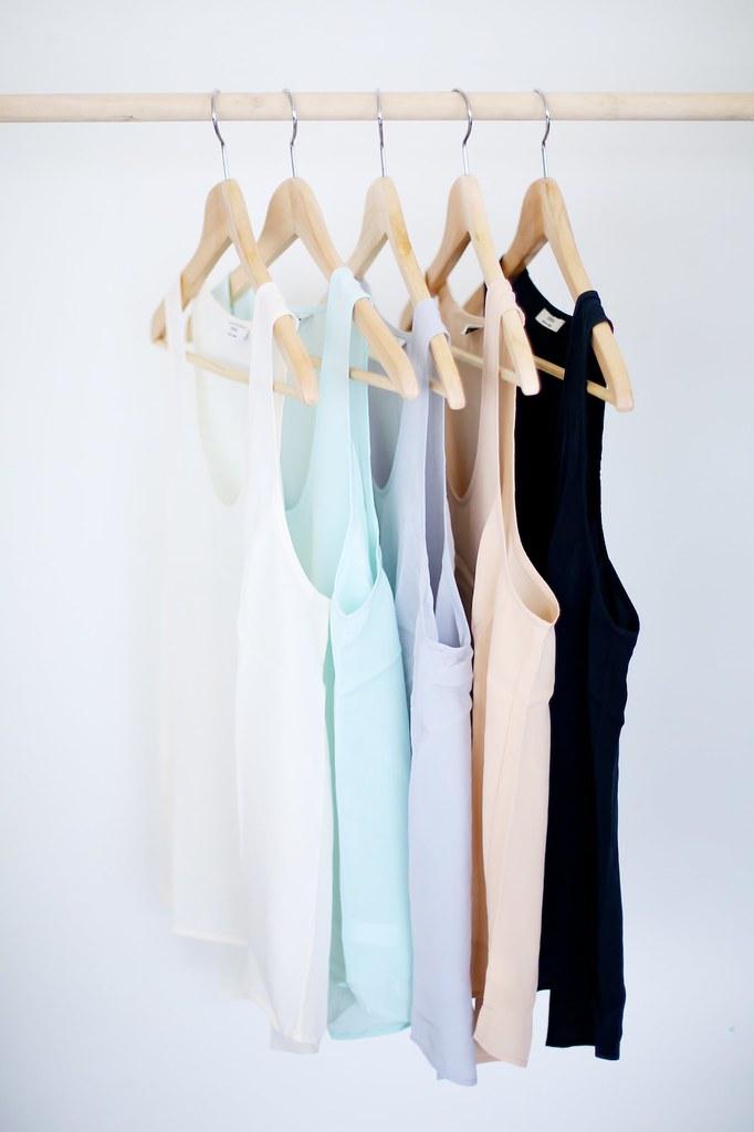 Wardrobe essentials as gifts