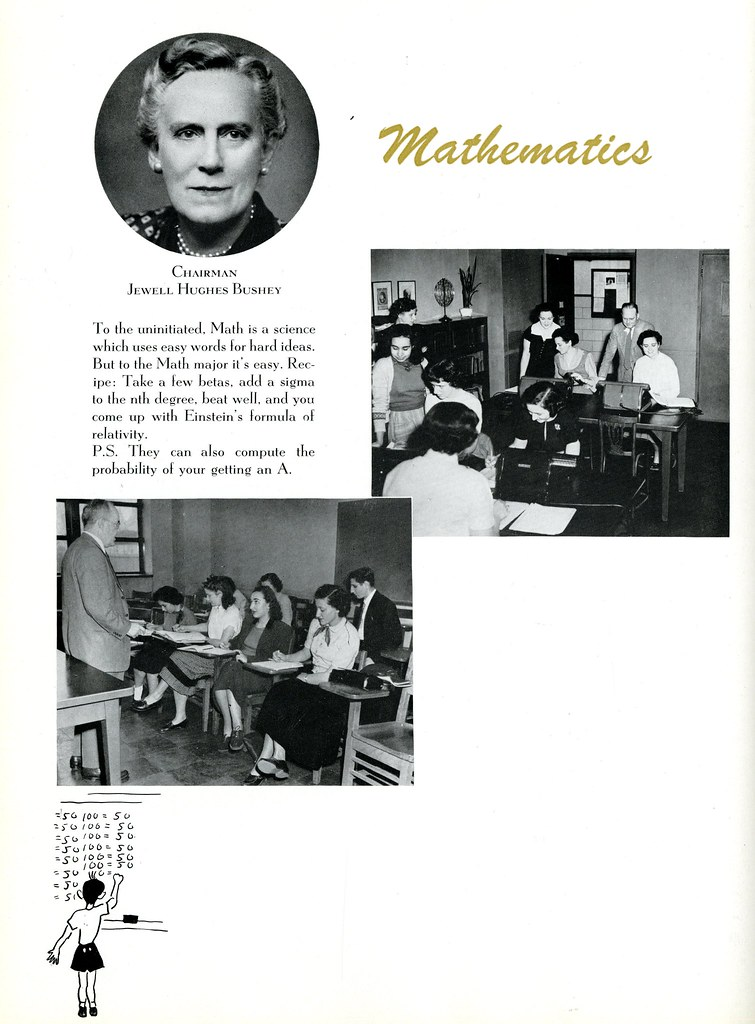 Mathematics | The Wistarion, p  28, 1952, Archives & Special