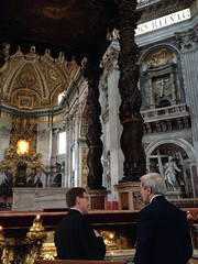 U.S. Secretary of State John Kerry tours St. Peter's Basilica in Vatican City on December 15, 2014. [State Department photo/ Public Domain]