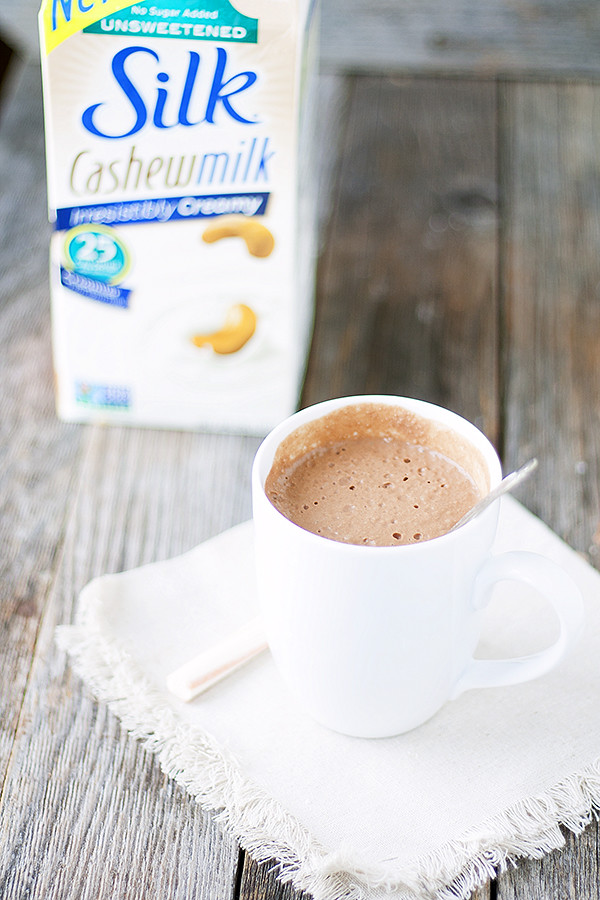 thick and creamy hot cocoa | dairy free