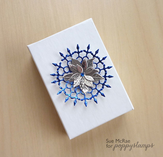 Snowflake Medallion Box