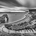 Long look At Durdle Door - Dorset by Christopher Pope Photography