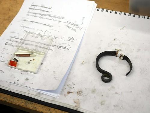 Pointing-Tool Bracelet - WIP - 6