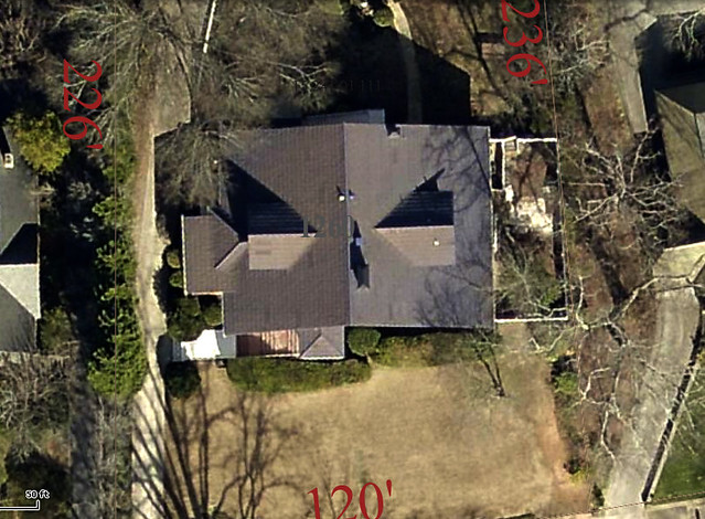 2015-01-10 1260 Fairview Druid Hills Atlanta shingle dekalb county tax map aerial