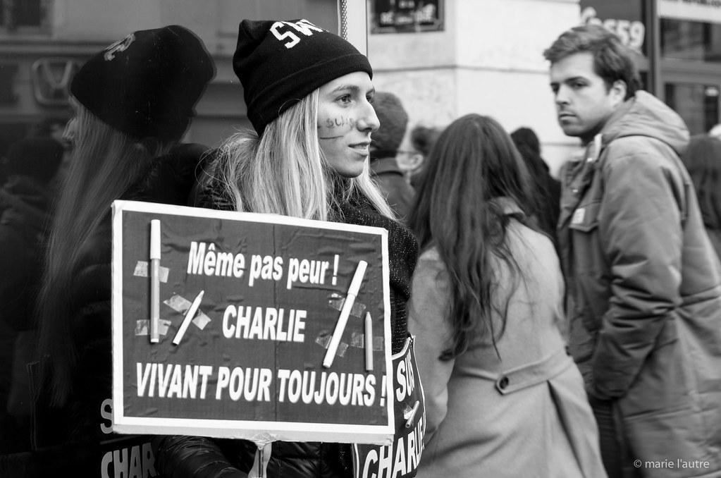 Je suis Charlie de Marie-Aude D., sur Flickr
