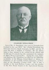 Charles Donaldson - Civic Record SA Councils 1921 - 1923