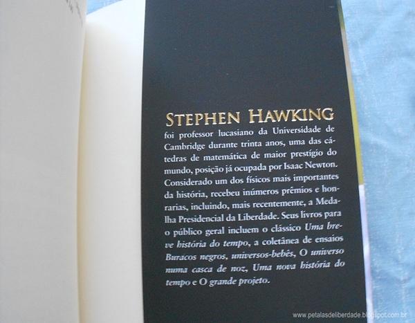 Stephen Hawking, sobre, Minha Breve História, livro, resenha, trechos, Intrínseca, esclerose lateral amiotrófica