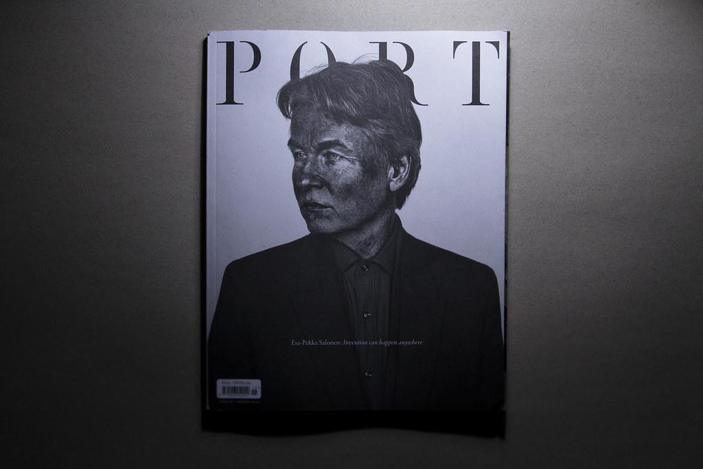 Port Magazine- Esa Pekka Salonen