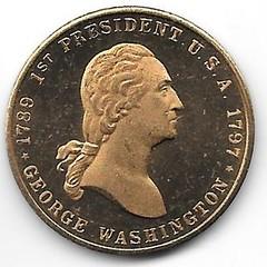Numismatic Scrapbook Contributor's Medal Pres. #1 001