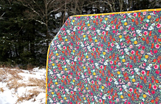 Winter's Garden Quilt in Emmy Grace