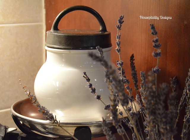 Antique French Ironstone Broth Warmer-Housepitality Designs