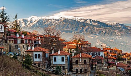 winter snow nature landscape village greece explored greekphotos panteleimonas visitgreece greecephotograpy photomaniagreecegreekphotographers