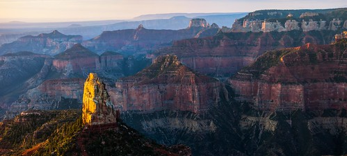 Point Imperial Sunrise, Grand Canyon North Rim, Arizona ( View VERY Large! )