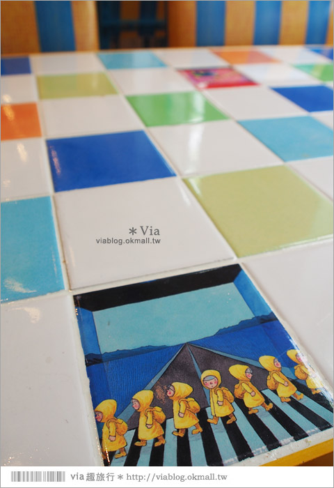 【台北幾米餐廳】華山幾米品牌概念餐廳~故事團團轉/是美味的餐廳,更是文創概念店14