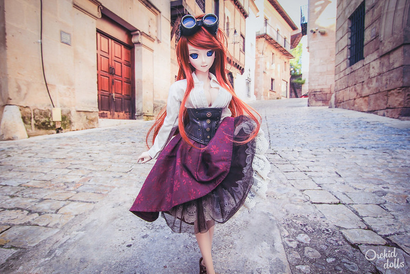 Yuuko taking a walk <3